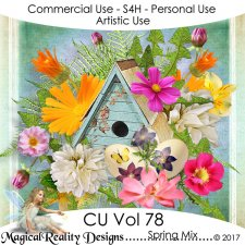 Spring Mix - CU Vol 78 by MagicalReality Designs