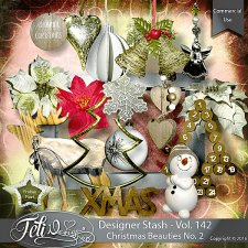 Designer Stash Vol 142 - Christmas Beauties No 2 by Feli Designs