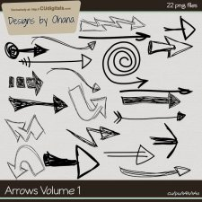 Arrows Doodles Volume 1 by Ohana Designs