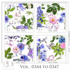 Vol. 0344 to 0347 Nature Mix by D's Design