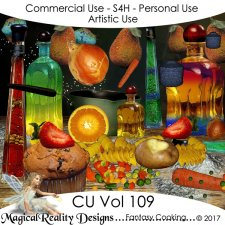 Fantasy Cooking - CU Vol 109 by MagicalReality Designs