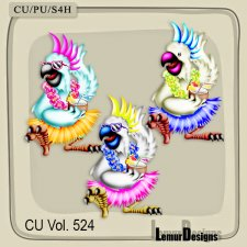 CU Vol 524 Parrot by Lemur Designs