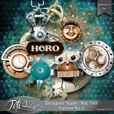 Designer Stash Vol. 149 - Explorer No. 2 by Feli Designs
