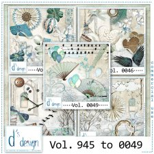 Vol. 0045 to 0049 Vintage Mix by Doudou Design
