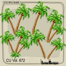 CU Vol 872 Palm tree by Lemur Designs