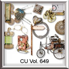Vol. 649 Steampunk Mix by Doudou Design