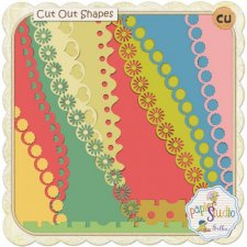 Cut Out Shapes with Tutorial EXCLUSIVE by PapierStudio Silke