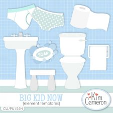 Big Kid Now Templates by Kim Cameron