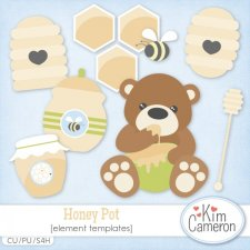 Honey Pot Templates by Kim Cameron