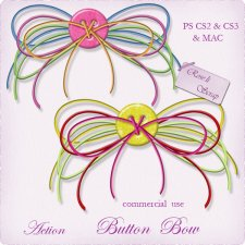 Action - Button Bow by Rose.li