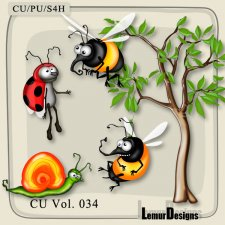 Insects Pack 5 by Lemur Designs