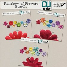 Rainbow of Flowers Bundle