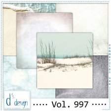 Vol. 997 - Beach papers - by Doudou's Design