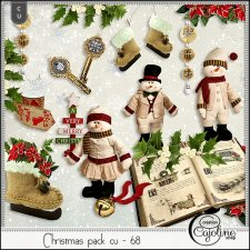 Christmas pack CU - 68 by Cajoline-Scrap