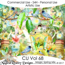 Magic Spring Mix - CU Vol 68 by MagicalReality Designs