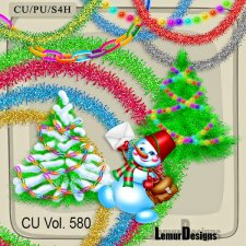 CU vol 580 Christmas Stuff by Lemur Designs