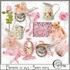 Elements CU - 243 Bears story by Cajoline-Scrap