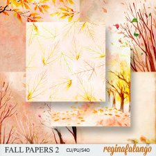 Fall Papers 2 by Reginafalango
