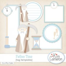 Father Time Templates by Kim Cameron
