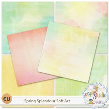 Spring Splendour Soft Art EXCLUSIVE by PapierStudio Silke