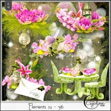 Elements CU - 316 Fairy garden inspiration by Cajoline-Scrap