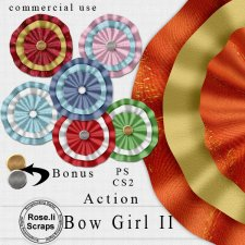 Action - Bow Girl II by Rose.li