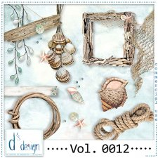 Vol. 0009 to 0012 Beach Mix by Doudou Design