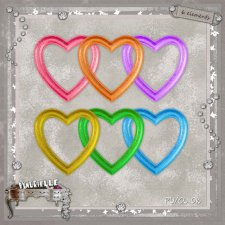 VOL 63 Frames Hearts EXCLUSIVE byMurielle