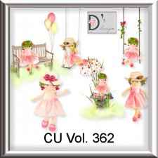Vol. 362 Spring Summer Dolls by Doudou Design