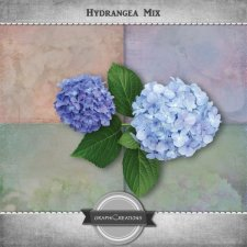 Hydrangea Mix by Graphic Creations