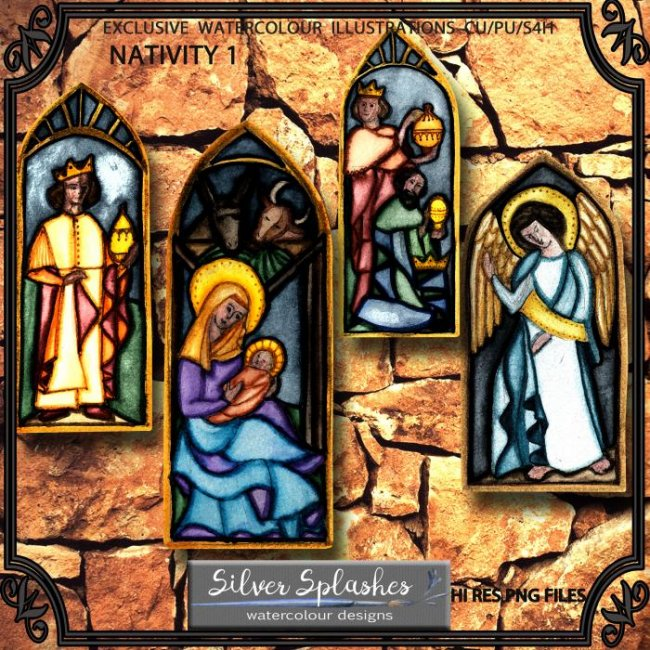 EXCLUSIVE Nativity 1 by Silver Splashes