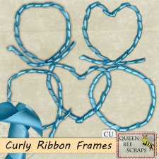 Curly Ribbon Frames