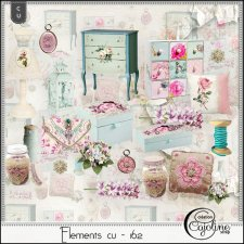 Elements CU - 162 Home Sewing Decor by Cajoline-Scrap