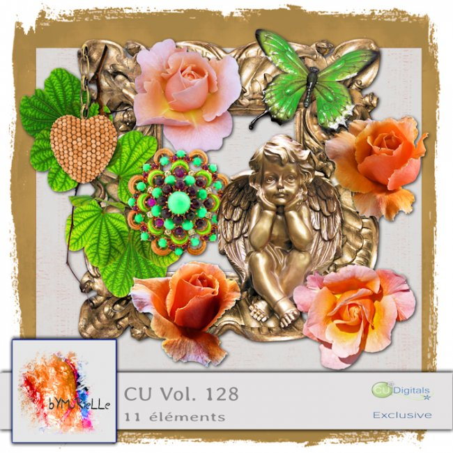 Vol. 128 Vintage Garden EXCLUSIVE bymurielle