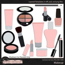 EXCLUSIVE Layered Makeup Templates by NewE Designz