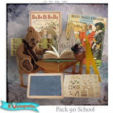 Pack 90 School by Kastagnette