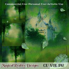 Spring Forest - CU Vol 192 by MagicalReality Designs