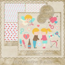 My Valentine Love Bundle by Josy