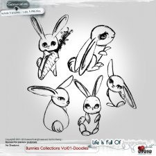 Bunnies Collections 01-Doodle