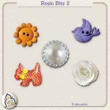 Resin Bits 2 by Benthaicreations