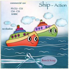 Action - Ship by Rose.li