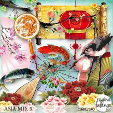 Asia Cu Mix 5 by Reginafalango