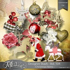 Designer Stash Vol 104 Christmas Items - by Feli Designs