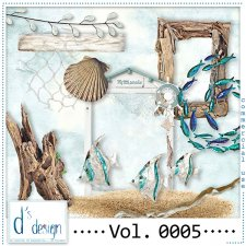 Vol. 0005 to 0008 - Beach Mix by Doudou's Design