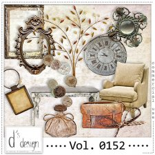Vol. 0152 - Vintage Mix by Doudou's Design