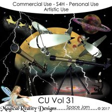 Space Jam - CU Vol 31 by MagicalReality Designs