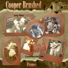 Cooper Brushed Frames by Cari Lopez
