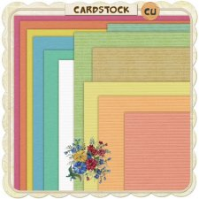 Cardstock Paper Pack EXCLUSIVE by PapierStudio Silke