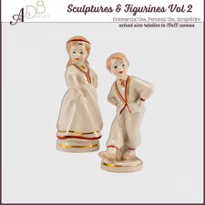 Sculptures & Figurines Elements Vol. 02 by ADB Designs