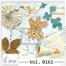 Vol. 0161 Music & Masquerade Mix by Doudou Design